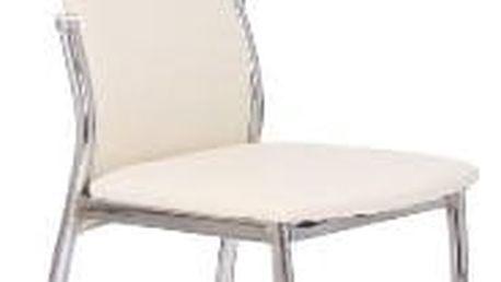 Jídelní židle K3 Halmar krémová