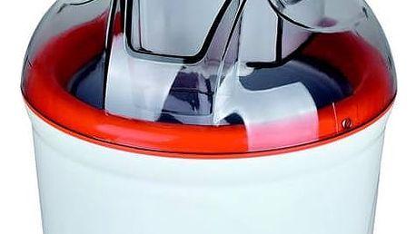 Zmrzlinovač Guzzanti GZ 155 bílý/oranžový + Navíc sleva 10 % + Doprava zdarma