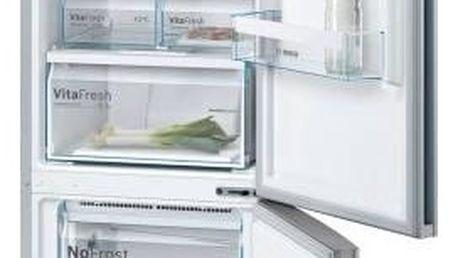 Kombinace chladničky s mrazničkou Bosch KGN39VL45 Inoxlook + Navíc sleva 10 %