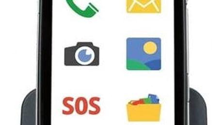 Mobilní telefon Evolveo EasyPhone D2, Android se snadným ovládáním (EP-D2) černý