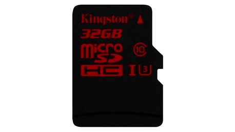 Paměťová karta Kingston 32GB UHS-I U3 (90R/80W) (SDCA3/32GBSP)