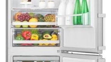 Kombinace chladničky s mrazničkou LG GBB60NSGFE nerez + Navíc sleva 10 %