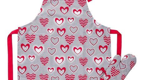 Trade Concept Dětská kuchyňská souprava Hearts