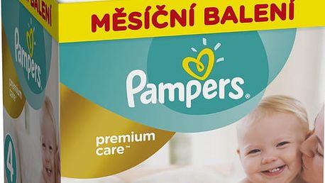 PAMPERS Premium Care 4 MAXI 168 ks (8-14 kg) MĚSÍČNÍ ZÁSOBA – jednorázové pleny