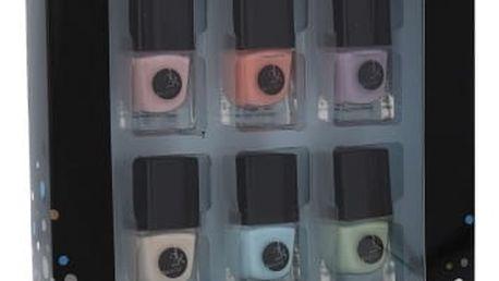2K Let´s Get Colourful! Pastels 5 ml dárková kazeta dárková sada pro ženy lak na nehty 6x 5 ml