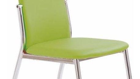 Jídelní židle K3 Halmar zelená