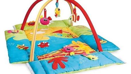 Hrací deka s hrazdou Canpol babies MULTIFUNKČNÍ Colorful ocean Čepička Santa Claus Canpol babies (zdarma) + Doprava zdarma