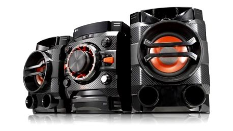 Minisystém LG CM4360 černý + Doprava zdarma