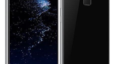 Mobilní telefon Huawei P10 Lite Dual SIM (SP-P10LITEDSBOM) černý Fitness náramek Huawei Band 2 Pro černý v hodnotě 1 999 Kč + DOPRAVA ZDARMA