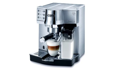 Kávovar espresso De Longhi EC 850, stříbrný