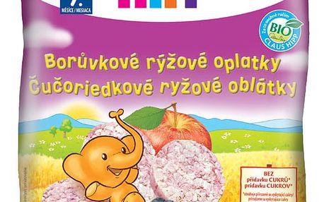 HIPP BIO borůvkové rýžové oplatky pro děti (30 g)