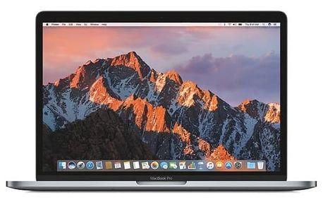 "Notebook Apple MacBook Pro 13"" 128 GB - Space Gray (MPXQ2CZ/A) + Doprava zdarma"