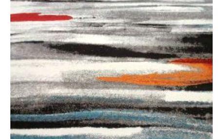 Spoltex Kusový koberec Diamond new 20701-95 grey, 80 x 150 cm