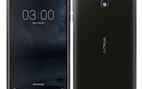 Mobilní telefon Nokia 3 Dual SIM (11NE1B01A16) černý + Doprava zdarma