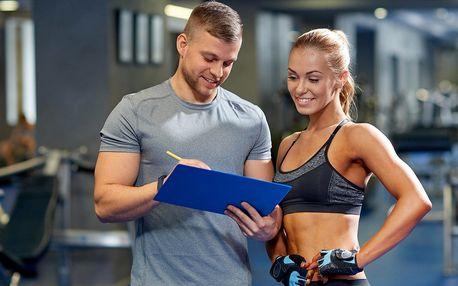 Měsíční cvičební program s osobním trenérem a relaxací