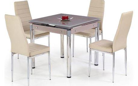 Jídelní stůl KENT Halmar červená