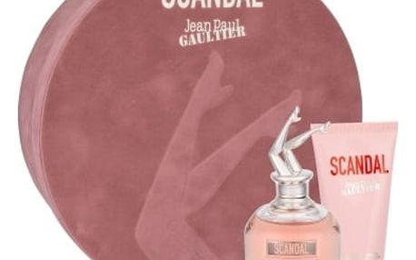 Jean Paul Gaultier Scandal dárková kazeta pro ženy parfémovaná voda 80 ml + tělové mléko 75 ml