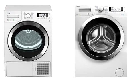 Set (Sušička prádla Beko DPY 8506 GXB1) + (Automatická pračka Beko Superia WMY 71243 CS PTLMB1) + DOPRAVA ZDARMA