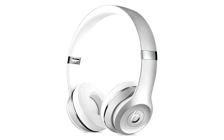 Sluchátka Beats Solo3 Wireless On-Ear (MNEQ2ZM/A) stříbrná + Doprava zdarma