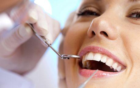 Kompletní dentální hygiena včetně air flow