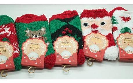 Dámské vánoční měkoučké ponožky 3