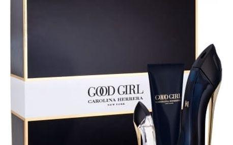 Carolina Herrera Good Girl dárková kazeta pro ženy parfémovaná voda 50 ml + tělové mléko 75 ml + parfémovaná voda 7 ml