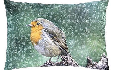 Sander Dekorační polštářek Snow bird 35 x 50 cm