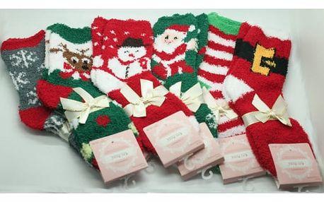 Dámské vánoční měkoučké ponožky 2