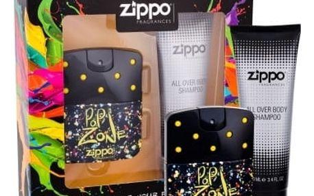 Zippo Fragrances Popzone dárková kazeta pro muže toaletní voda 40 ml + sprchový gel 100 ml