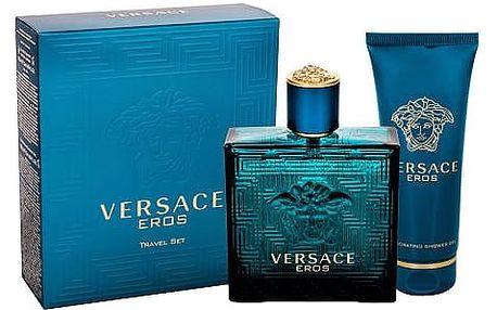 Versace Eros EDT dárková sada M - EDT 100ml + sprchový gel 100 ml