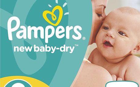Pampers Plenky Active New Baby 2 Mini (3-6kg) - 228 ks