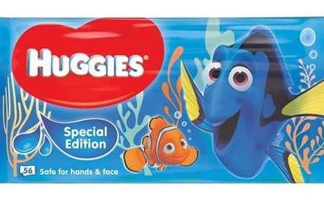 Ubrousky čistící Huggies N'CARE Finding Dory 10x56ks