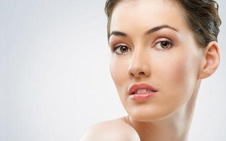 Mezoterapie obličeje s terapií světlem