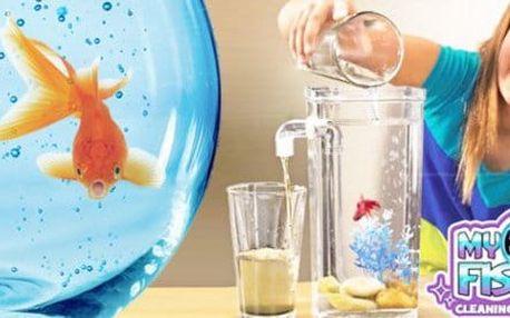 Samočisticí akvárium My Fun Fish pro děti a jejich rybích společníků