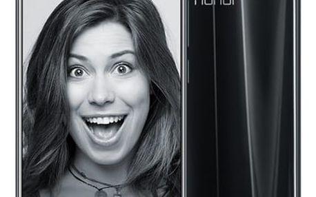 Mobilní telefon Honor 9 Dual SIM 64 GB (51091TBH) černý Fitness náramek Honor Band 3 černý v hodnotě 1 790 Kč + DOPRAVA ZDARMA