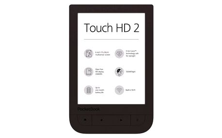 Čtečka e-knih Pocket Book 631+ Touch HD 2 (PB631-2-X-WW ) hnědá + DOPRAVA ZDARMA