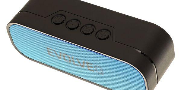 Přenosný reproduktor Evolveo GT8 (ARM-GT8-BLU) černé/modré3