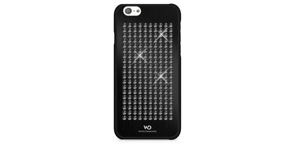 Kryt na mobil White Diamonds The Rock pro iPhone 6/6s (WD-1310RCK6) černý