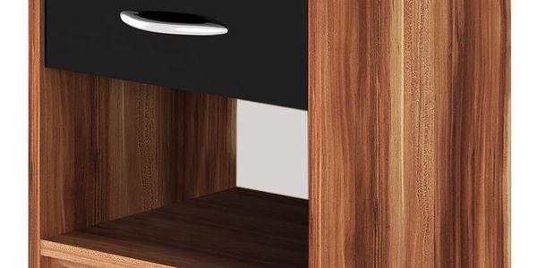Noční stolek 1 ks S0978 merano - černá