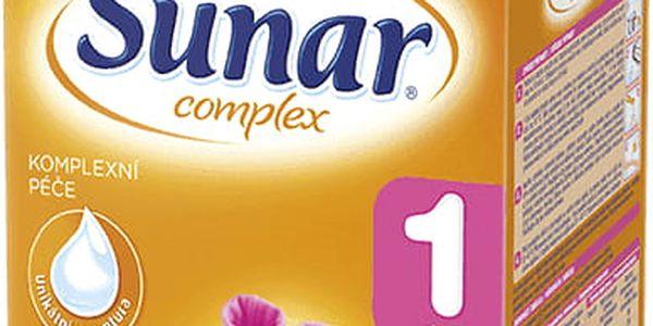 SUNAR Complex 1 (600 g) - kojenecké mléko