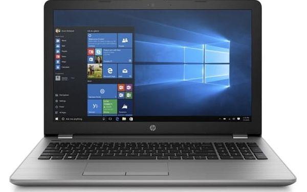 Notebook HP 250 G6 (1XN51EA) stříbrný Software Microsoft Office 365 pro jednotlivce CZ + Software F-Secure SAFE, 3 zařízení / 6 měsíců + Monitorovací software Pinya Guard - licence na 6 měsíců v hodnotě 2 478 Kč + DOPRAVA ZDARMA