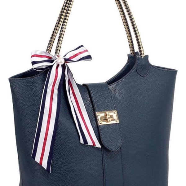 Dámská námořnicky modrá kabelka Harper 278