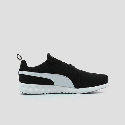 Boty Puma Carson Runner CV black-white-steel gray Černá