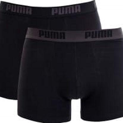 Pánské trenýrky Puma Basic Boxer 2P black bl | 888869-58 | L