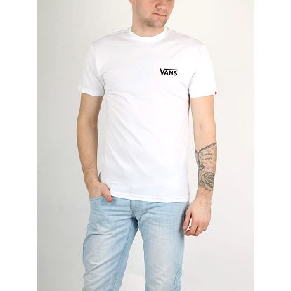 Tričko Vans Mn Left Chest Logo T White Bílá