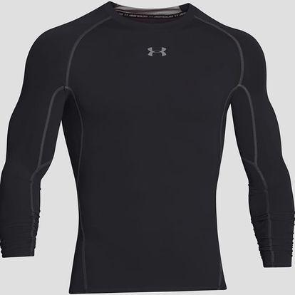 Kompresní tričko Under Armour HG LS Černá
