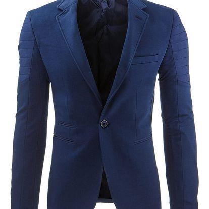 Pánské sako Marowak modré AKCE