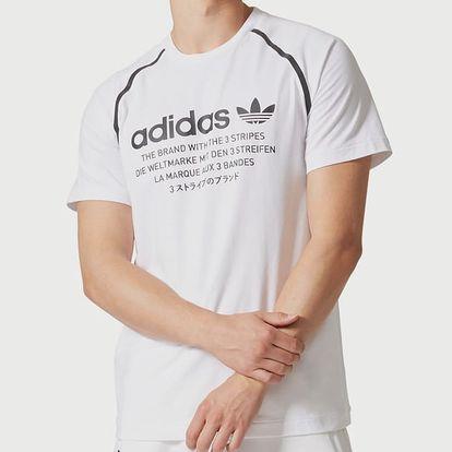Tričko adidas Originals NMD D-TEE Bílá