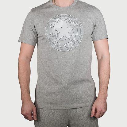 Tričko Converse Dimensional Layer Chuckpatch Tee Šedá