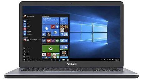 Notebook Asus F705NC-BX014T (F705NC-BX014T) šedý + Doprava zdarma